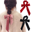 Women-Velvet-Big-Bow-Hair-Ropes-Scrunchies-Elastic-Hair-Ties-Head-Band-For-Girl thumbnail 3