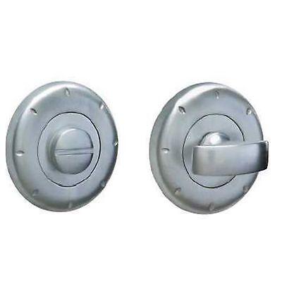 Yale Thumb Turn Bathroom Door Lock Brushed Chrome