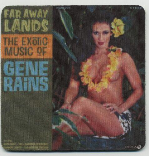 Far Away Lands Gene Rains Record Album Cover  COASTER