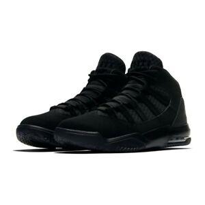 Dettagli su NIKE AIR JORDAN MAX AURA BLACK sneakers Uomo scarpe basket pelletessuto tecnico