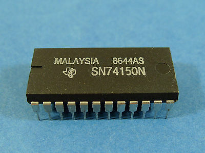 Texas Instruments multiplexer SN74150N 16-line to 1-line data selector