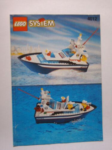 LEGO® Bauanleitung 4012 Instruction Nr