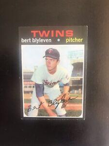 1971 TOPPS #26 BERT BLYLEVEN HOF MIN TWINS— HOT ROOKIE🔥*** (wph)