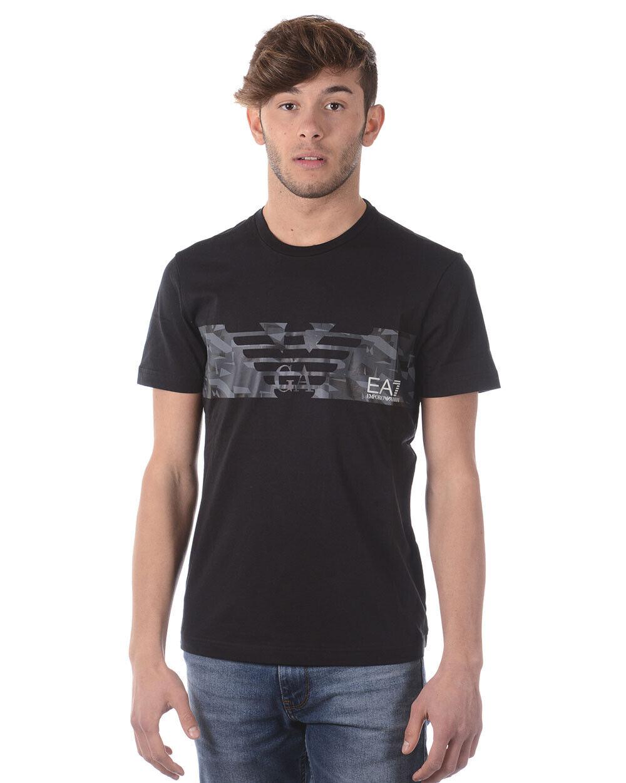 T shirt emporio armani ea7 mens schwarz 3zpt44pj30z 1200 make offer tl xl