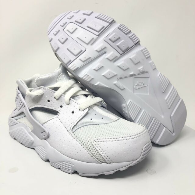 f9d471bfd0c1 Nike Huarache Run White 704949-110 Preschool Sizes 1y for sale ...