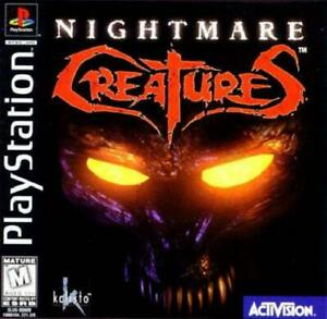 Nightmare-Creatures-PS1-Great-Condition-Fast-Shipping