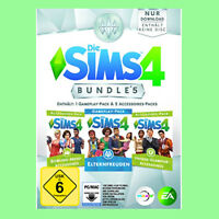 Die Sims 4 Bundle Pack 5 Elternfreuden Bowling-abend Vintage Ea Origin Pc Code