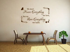 Image Is Loading Family Wall Quote 034 We Don 039 T