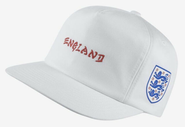 Hurley England National Soccer Team Snapback Hat White Unstructured ... 3171b8b6b7d0