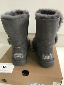 Grey Ugg Sheepskin Boots Uk Bailey Brand In 5 New Box Bling 5 Australia There qq4XT