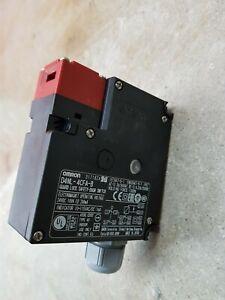 OMRON door interlock safety switch D4NL-4CFA-B. Like new.