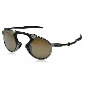 8dd0572fb0f07 Oakley Madman Plasma Tungsten Iridium Polarized Sunglasses - O06019 ...