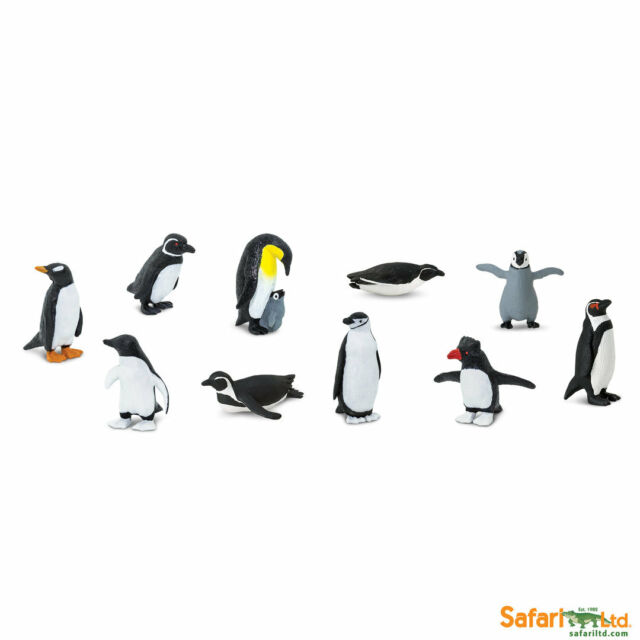 Penguins BULK Bag Mini Figures Safari Ltd Toys Educational Figurine