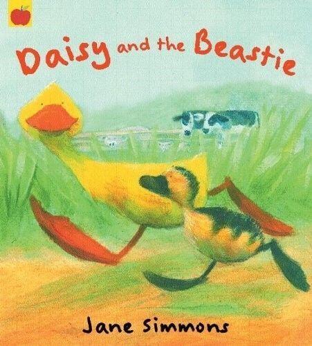 Preschool Story Book - Bedtime - DAISY DUCK: DAISY AND THE BEASTIE - NEW