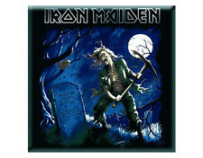IRON MAIDEN Fridge MAGNET Benjamin Breeg Square Steel Official New SEALED