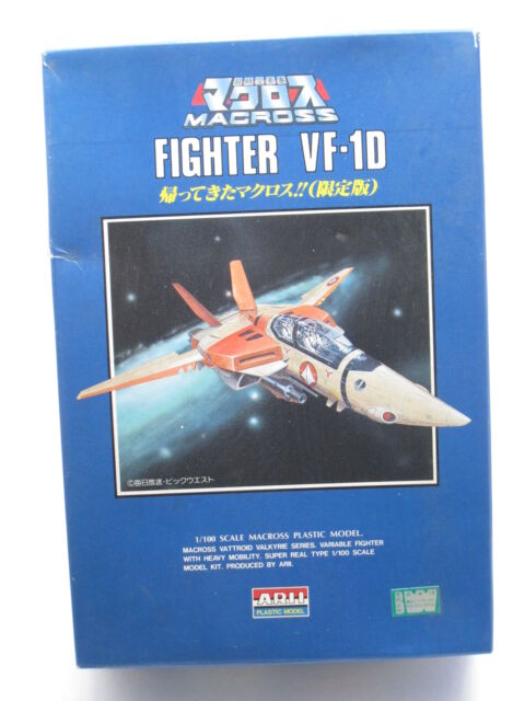 Anime Macross 1/100 #11 VF-1D Fighter Valkyrie Limited Model Kit ARII Robotech