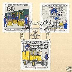 Humble Berlin 1990: Postgeschichte Providence Nr 876-878 Avec Ersttags-cachet Spécial! 1a-rstempel! 1afr-fr Afficher Le Titre D'origine Cool En éTé Et Chaud En Hiver