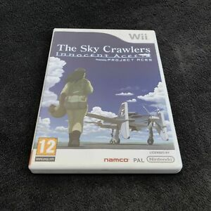 Nintendo-Wii-The-Sky-Crawlers-Innocent-Aces-FAH-CD-etat-neuf