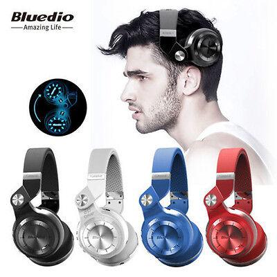 Bluedio T2S Shooting Brake Bluetooth 4.1 Wireless Headphones Stereo Headsets