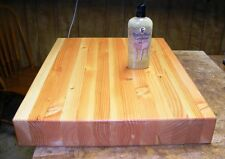 Edge Grain Butcher Block Cutting Board 18 x 24 x 3 inches - Reversible
