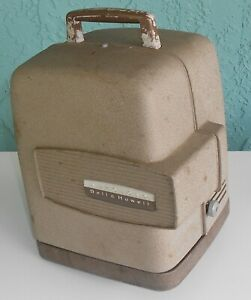 Vintage Bell & Howell Auto Load 8mm Movie Film Projector 265A Tested, Needs Bulb