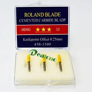 3 Pcs Roland 30 Degree Cutting Blade For Vinyl Cutting Plotter