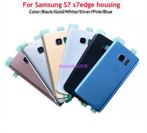 For-Samsung-Galaxy-S7-S7-Edge-Rear-Battery-Back-Door-Glass-Cover-Camera-Lens