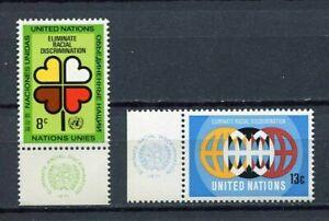 19101A-UNITED-NATIONS-New-York-1971-MNH-Racial-discrim-lab