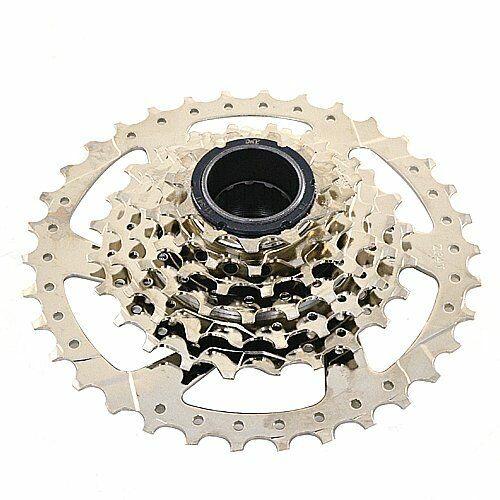 Bicycle Freewheel Nickel Plate Screw On 11-28T 7 Speed Mountain Bike for Shimano