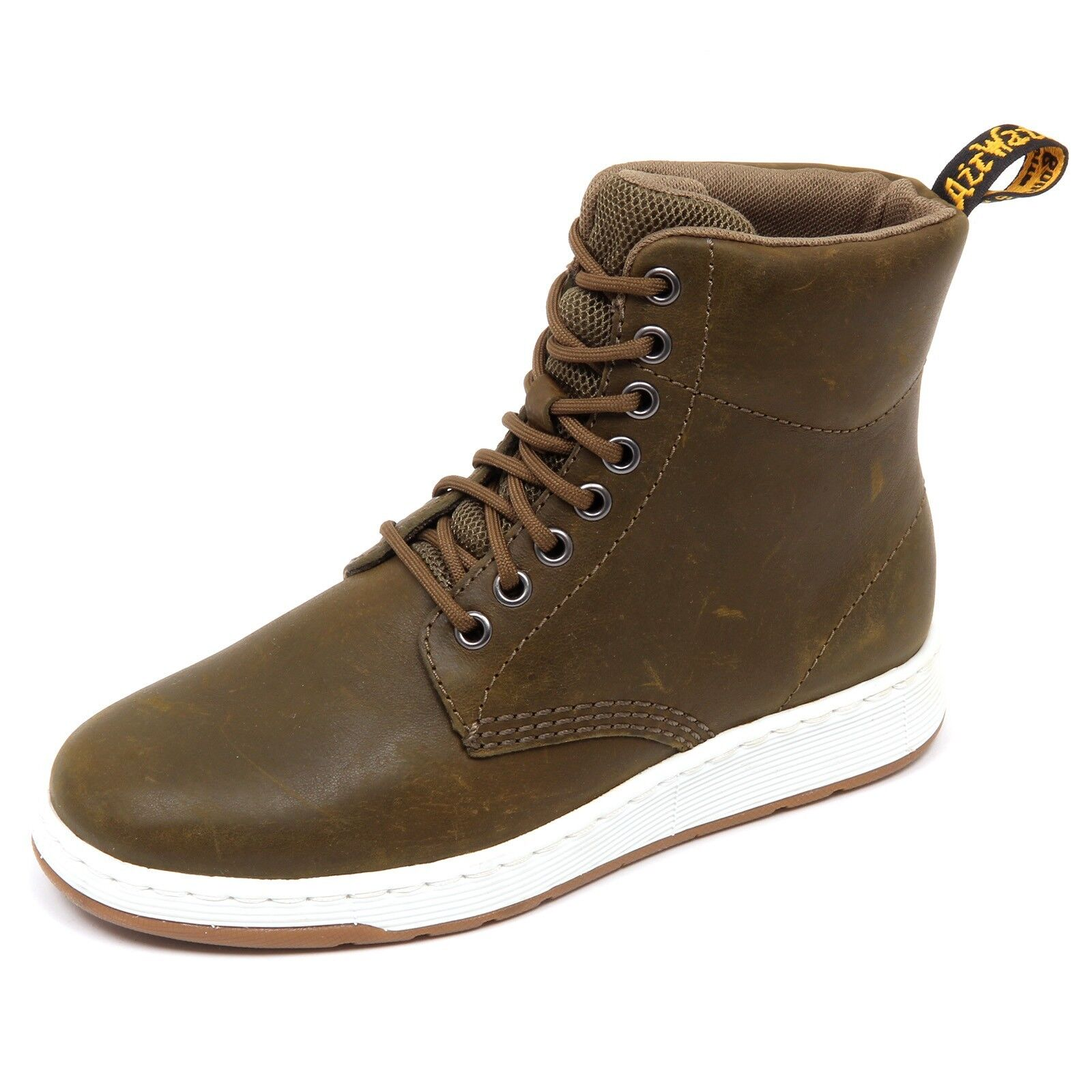 D4314 (without box) sneaker donna DR. MARTENS woman RIGAL green vintage shoe woman MARTENS f45266