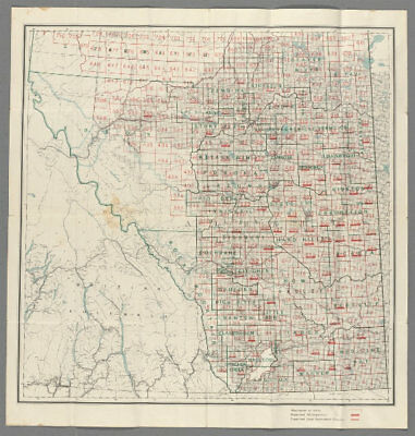 Canada Southern Sheet Department Of Public Works 1913 Map Flight Tracker Alberta Electoral