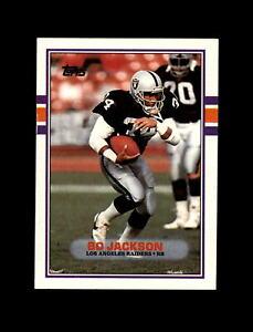 1989-Topps-Football-269-Bo-Jackson-Raiders-NM-MT