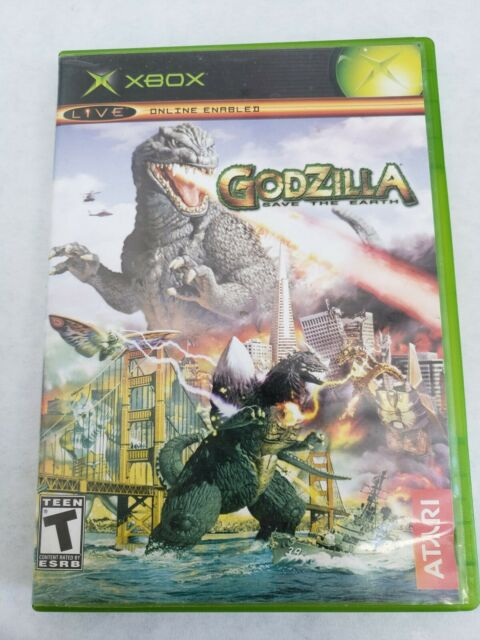 Godzilla: Save the Earth - Original Xbox Game FREE FAST SHIPPING VERY RARE