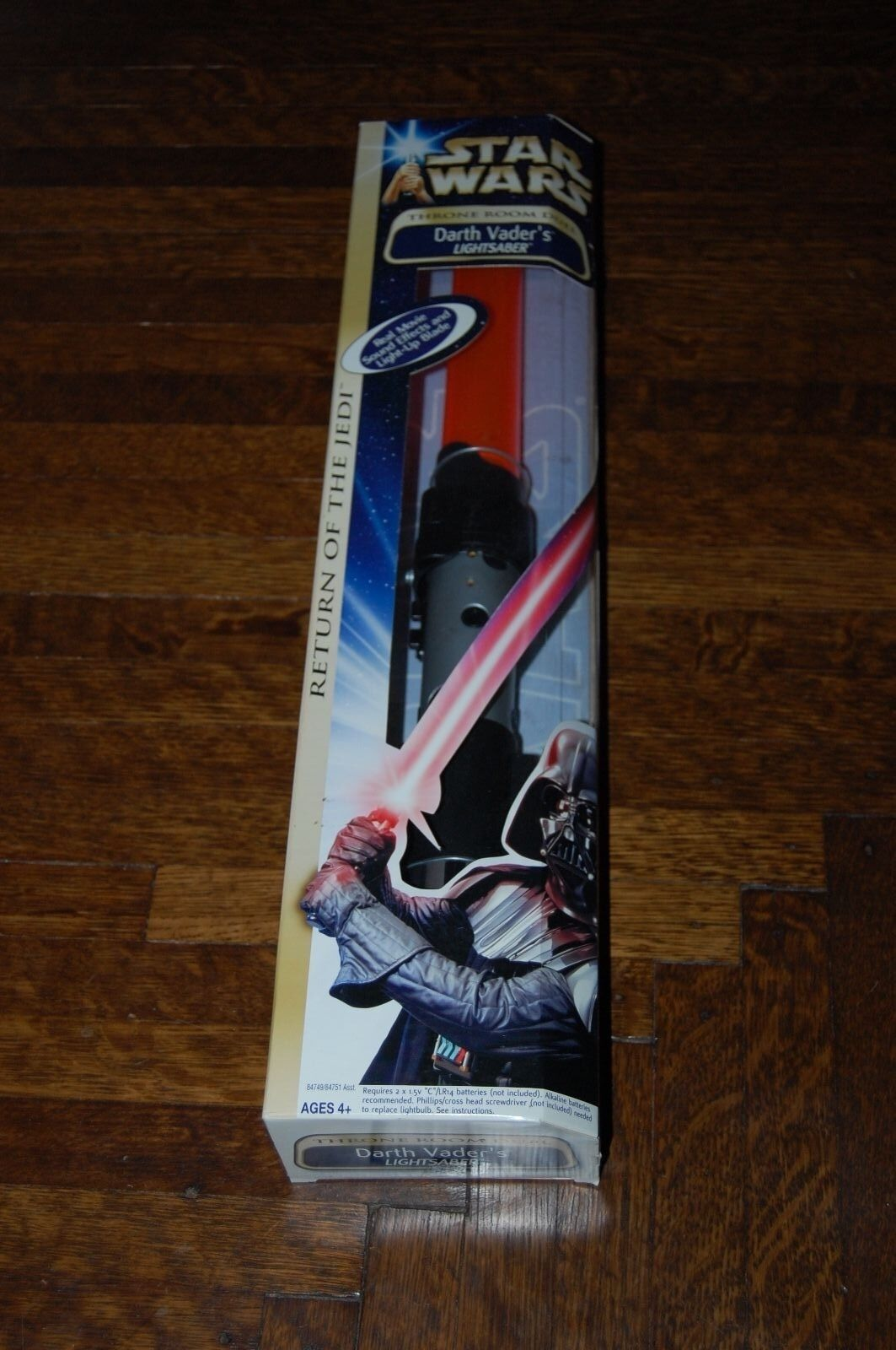 Sable de luz Darth Vader Electronic-Star Wars Saga Regreso del Jedi