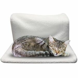 image is loading pet cat dog radiator bed warm soft fleece  pet cat dog radiator bed warm soft fleece cradle basket hanging      rh   ebay