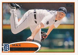 2012-Topps-162-Max-Scherzer-Detroit-Tigers-Baseball-Card