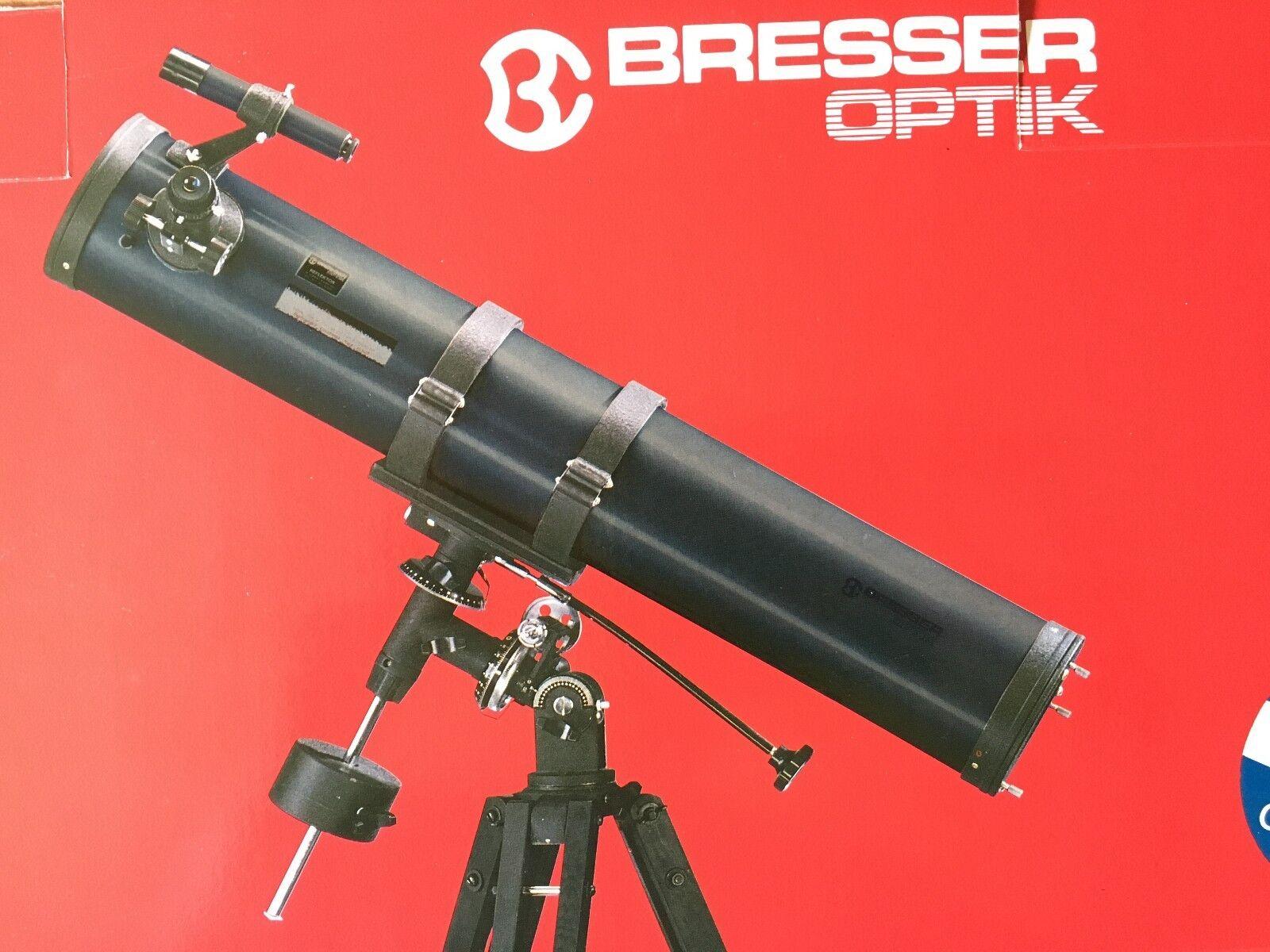 Teleskop spiegelteleskop fernrohr bresser ebay