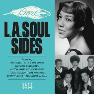 Various-Artists-Dore-L-A-Soul-Sides-Various-New-CD-UK-Import