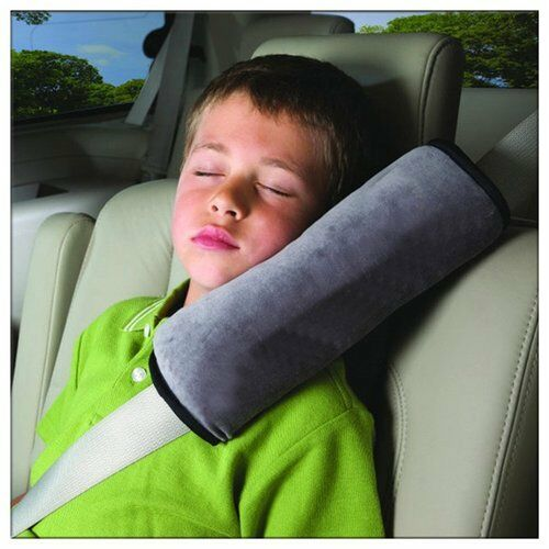 Kids Child Car Safety Seat Belt Pillow Shoulder Strap Pad Cushions Head Supports