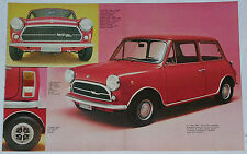 Article Articolo 1972 INNOCENTI MINI 1000 MINI MATIC MINI T MINI COOPER 1300