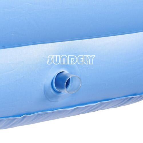 OUTDOOR INFLATABLE SPA BATH BATHTUB PORTABLE FOLDABLE JACUZZI HOT TUB SUNDELY