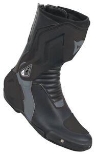 Sport-Motorrad-Stiefel-Nexus-Lady-Dainese-Damen-Groesse-41-schwarz-anthrazit-NEU