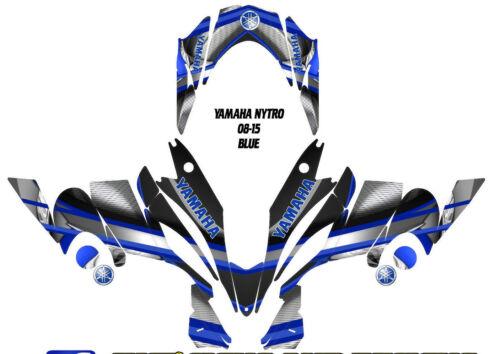 YAMAHA NYTRO SNOWMOBILE WRAP DECAL STICKERS 05-15 ARMOUR BASIC