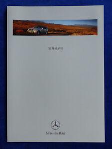 Mercedes-Benz-M-Klasse-ML-55-AMG-W163-Prospekt-Brochure-08-1999