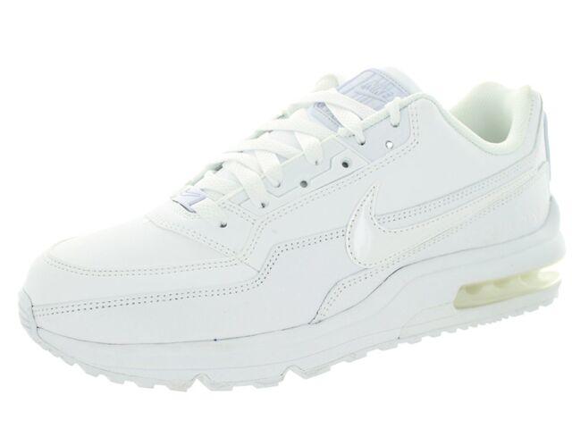 1d0d960637fa 2014 Nike Mens Air Max Ltd 3 Running Shoes White white All Sizes 9 ...