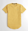 Hollister-homme-a-encolure-ras-du-cou-a-manches-courtes-Muscle-must-have-Courbe-Tee-Logo-T-Shirt miniature 44