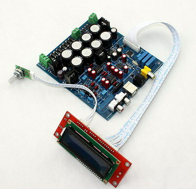 Assembled PCM1794 + AK4118 DAC Decoding Soft Control Board Without USB CARD