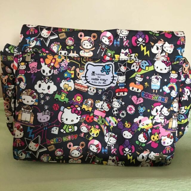 Nwt Jujube Tokidoki O Kitty Better Be Dream World Diaper Messenger Bag