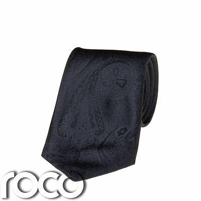 Blu Marino Ragazzi Cravatta,motivo Cachemire Cravatte,formali Da
