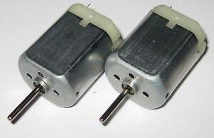 2-X-280-Mabuchi-DC-Motor-Mini-Generator-12-VDC-Generate-1-V-per-800-RPM